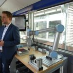 Roadshow Bus innen - Mit uns digital!